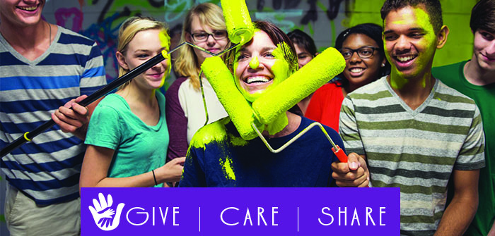 Give | Care | Share – Chain Reaction